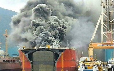 Four Killed In Explosion At South Korean Shipyard