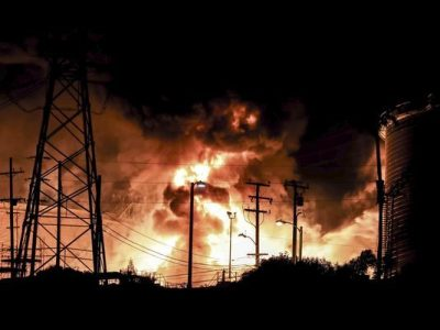 USA – Fire At Chevron El Segundo Refinery