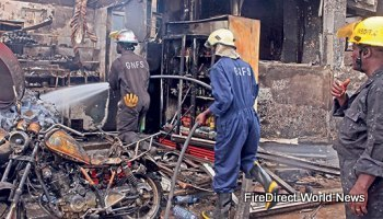 Ghana – Explosion Rocks Fuel Depot Killing 3