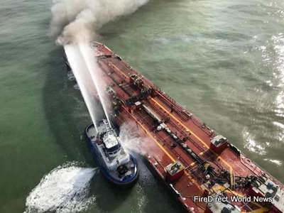 USA – Search Suspended For Missing Persons After Oil Barge Explosion