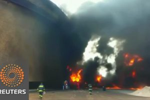 Fires Rage At Libyan Oil Terminal – Video