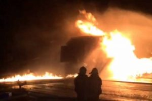 Taiwan – Fire Put Out At Underground Oil Pipeline In Haulien – Video
