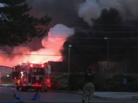 USA – Huge Fire Breaks Out At Penn. Chemical Plant