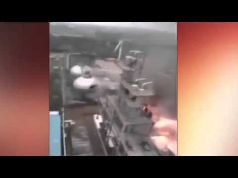 Video Reportedly Shows Clear View Of Chemical Plant Explosion In China