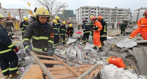 China – Ningbo Port City Rocked By Major Explosion