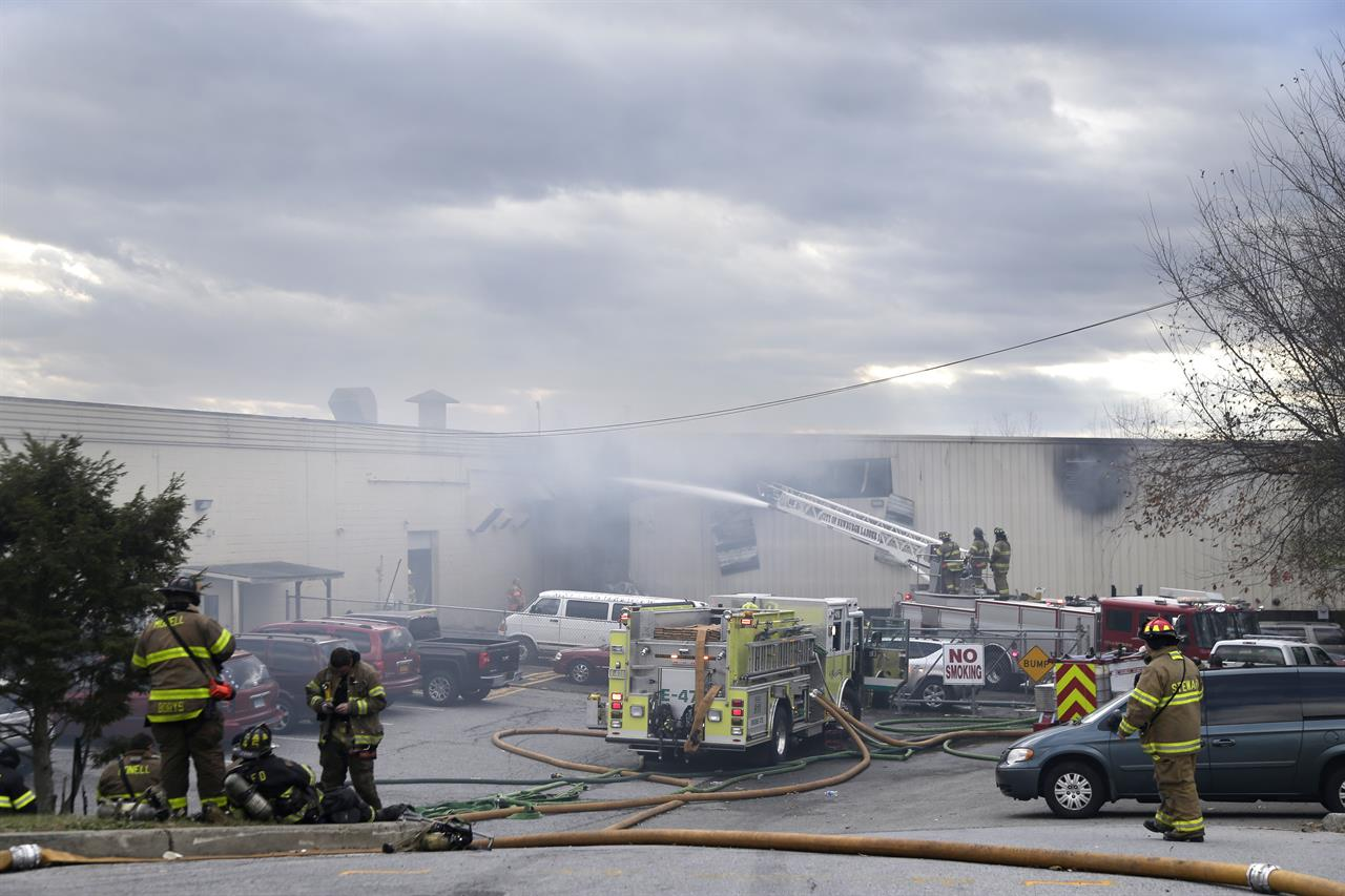 USA – Chemical Explosions Kill One, 40 Injured – Including 7 FireFighters