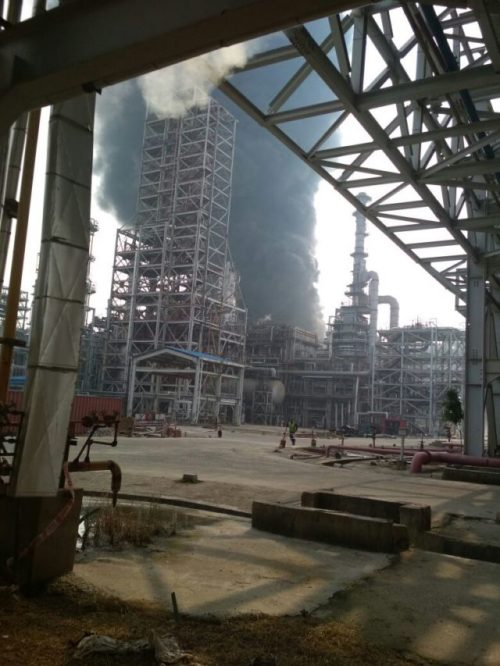 India – Fire At IOCL Refinery