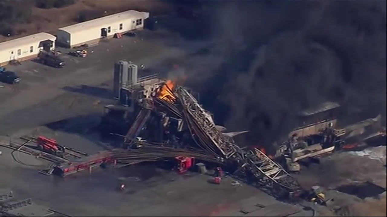 5 Missing, Fire Out After Oklahoma Rig Explosion