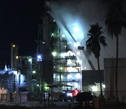 Citgo Reports Fire At Corpus Christi Refinery