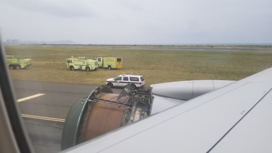 United Airlines Engine Disintegrates Over Pacific, Forcing Emergency Landing