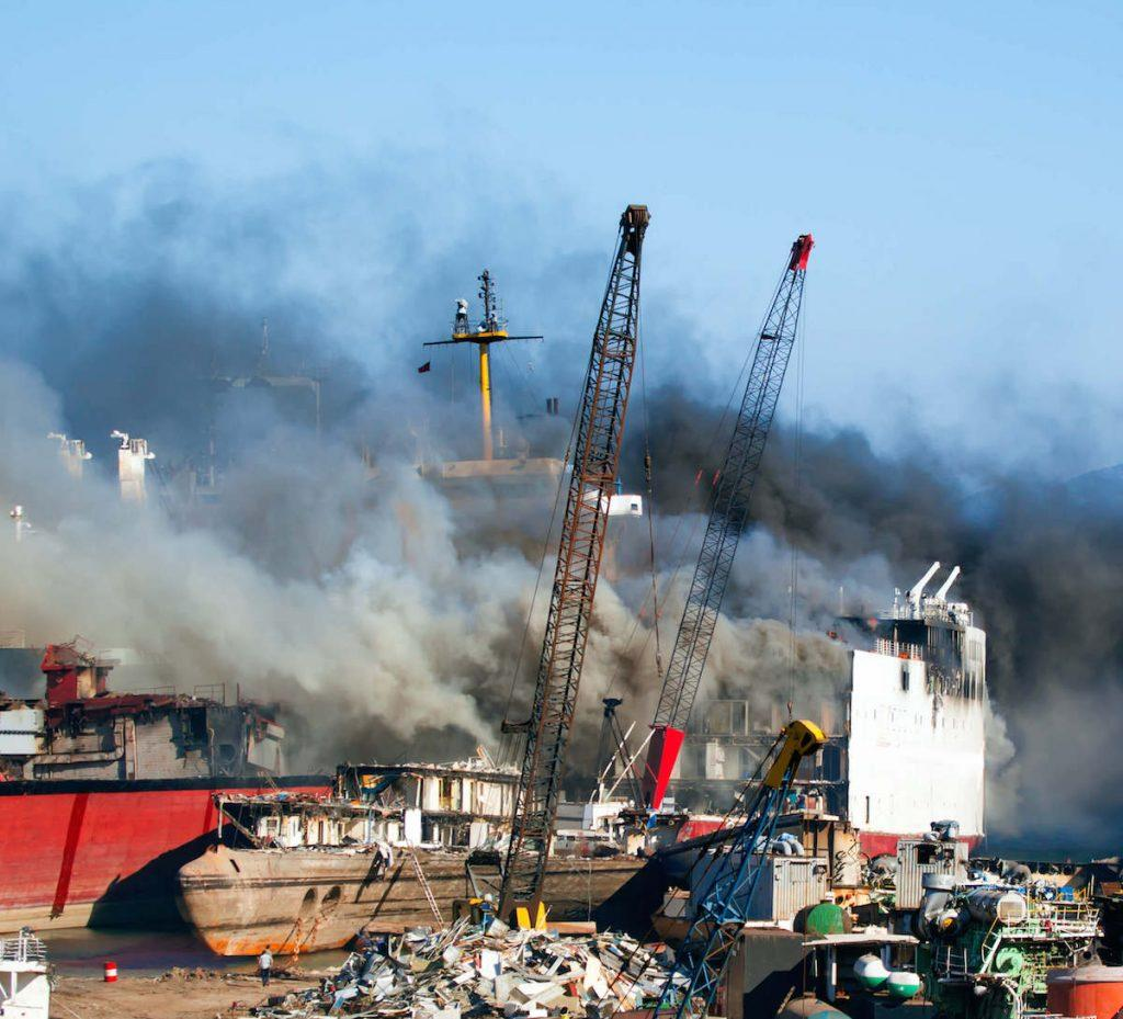 India – ONGC Ship Explodes At Cochin Shipyard, Several Killed