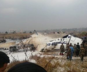 Plane Crashes At Nepal's Kathmandu Airport 50 Dead – 17 Rescued