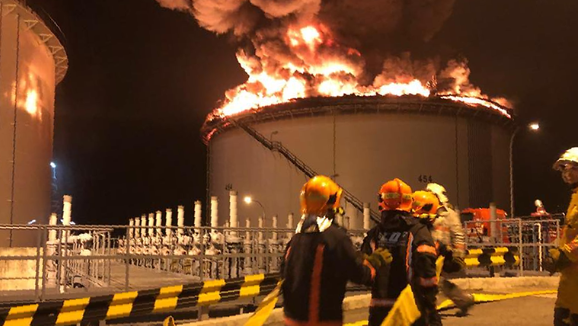Singapore – Pulau Busing Oil Storage Tank Fire Extinguished After 'massive Operation': SCDF
