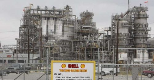 USA – Fire At Shell Oil Refinery Contained