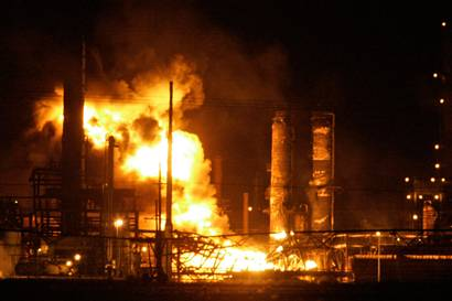 USA – Explosion Hits Valero's Texas City Refinery