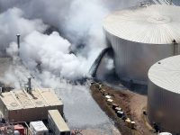 USA – Fire Reignites At Husky Energy Oil Refinery In Wisconsin, 11 Injured