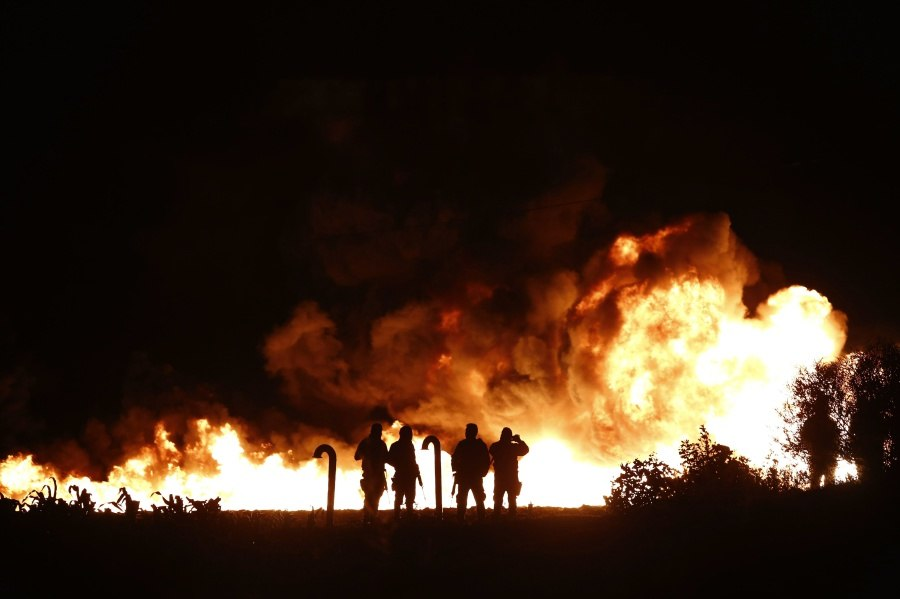 China – Gas Pipeline Explosion Seriously Injures 24