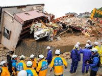 Japan: Death Toll Climbs To 155 After 'historic' Rain & Landslides