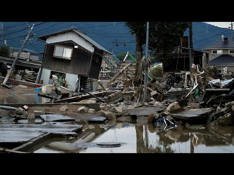 Japan Floods Latest: More Than 100 Dead After Mudslides & Record Heavy Rains