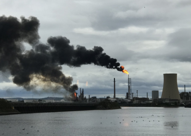 UK – Fire & Explosion At Major UK Oil Refinery