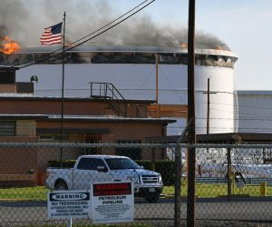 US – Crude Oil Tank Fire Extinguished