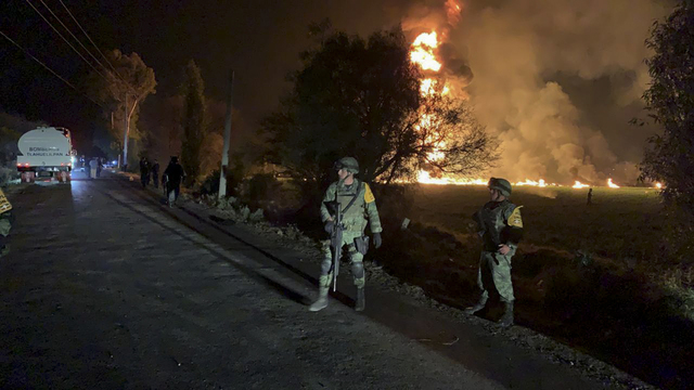 Mexico – Death Toll Reaches 85 In Fuel Pipeline Fire