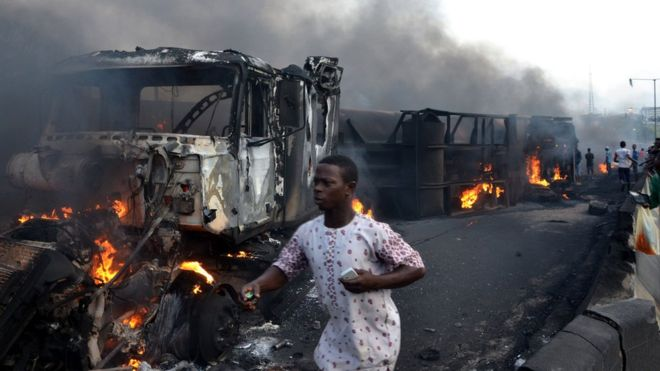 Nigeria – Many Feared Dead After Tanker Blast