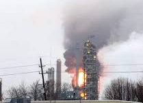 USA – Explosion & Large Fire Reported At Phillips 66 Wood River Refinery
