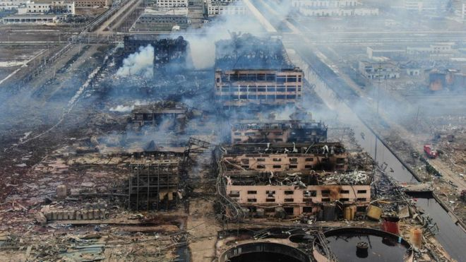 Chinese Chemical Plant Survivors Relive Horror Of 'earth-shattering' Blast