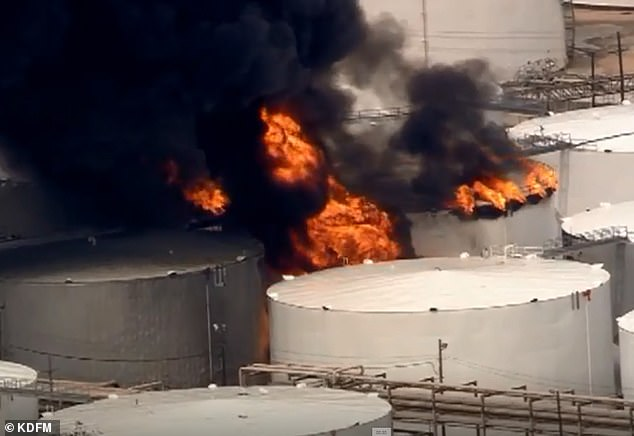 USA – ITC Plant – Naptha Fire Spreads To Multiple Tanks