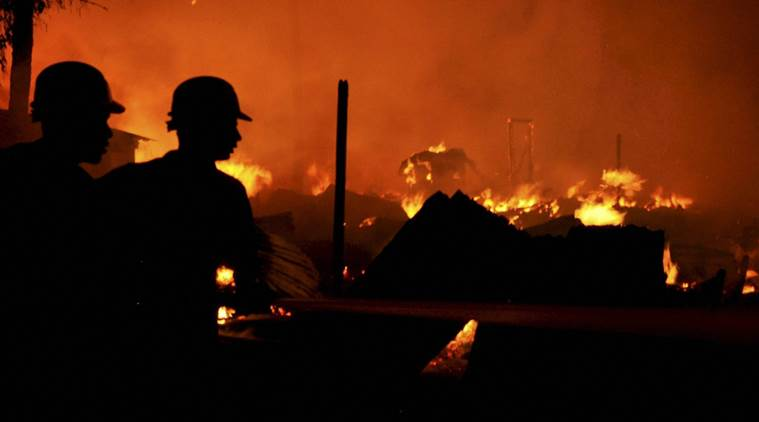 India – ONGC Fire – Two Dead, Four Injured