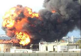 Russia – Fire & Explosions At Komsomolsk-on-Amur Oil Refinery