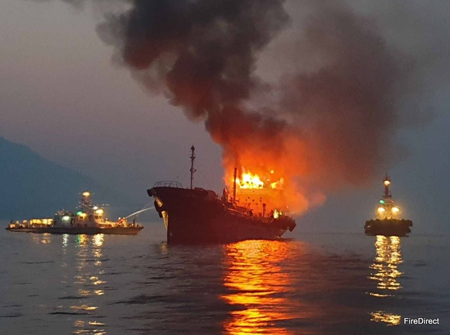 South Korea – 2 Killed, One Injured In Oil Tanker Fire