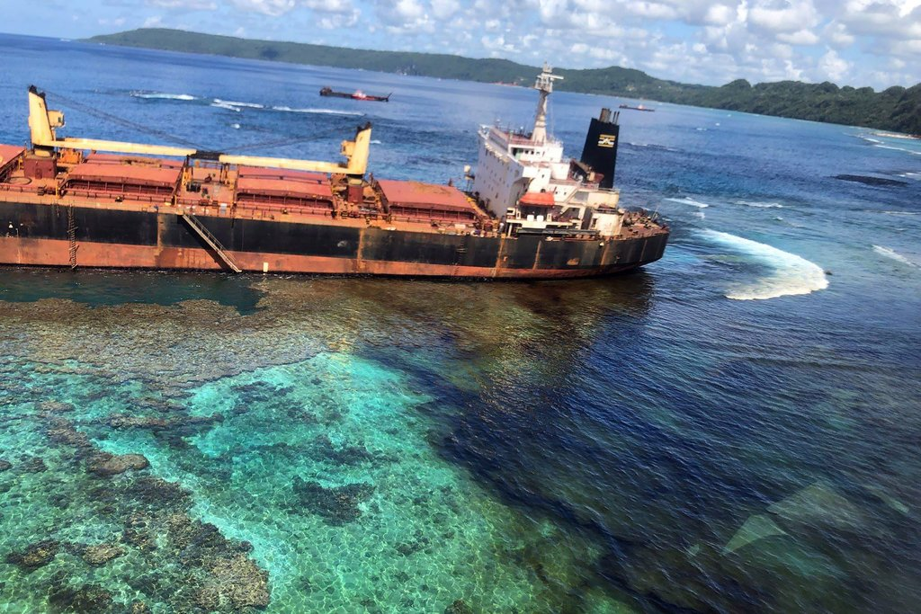 Australia – Oil Spill Near Unesco World Heritage Site In South Pacific Is Spreading