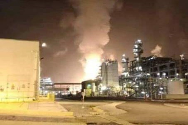 Malaysia – Fire At Petronas' RAPID Oil Refinery Quickly Tamed – Video