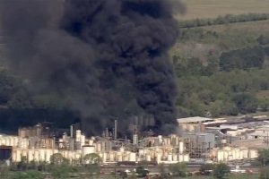Refinery Fire Texas
