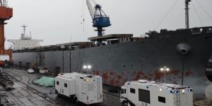 China – Cargo Ship – 10 Dead, 19 Injured – Co2 Leak Came From Ship's Fire Prevention System.