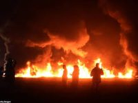 Iran – Fire At Major Oil Pipeline In Southwest Of Iran