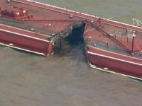USA – Major Gas Product Spill After Tanker & Barges Collide