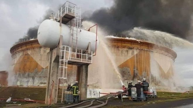 Cameroon – Explosion Hits Lone Oil Refinery