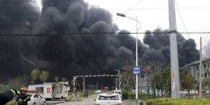 China – 6 Killed In Chemical Explosion