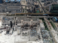China – 15 Die In Gas Plant Explosion