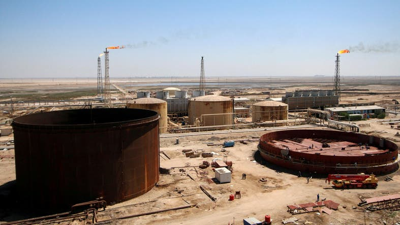 Iraq – Fire At Basra Refinery