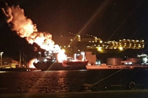 Turkish Tanker Blast
