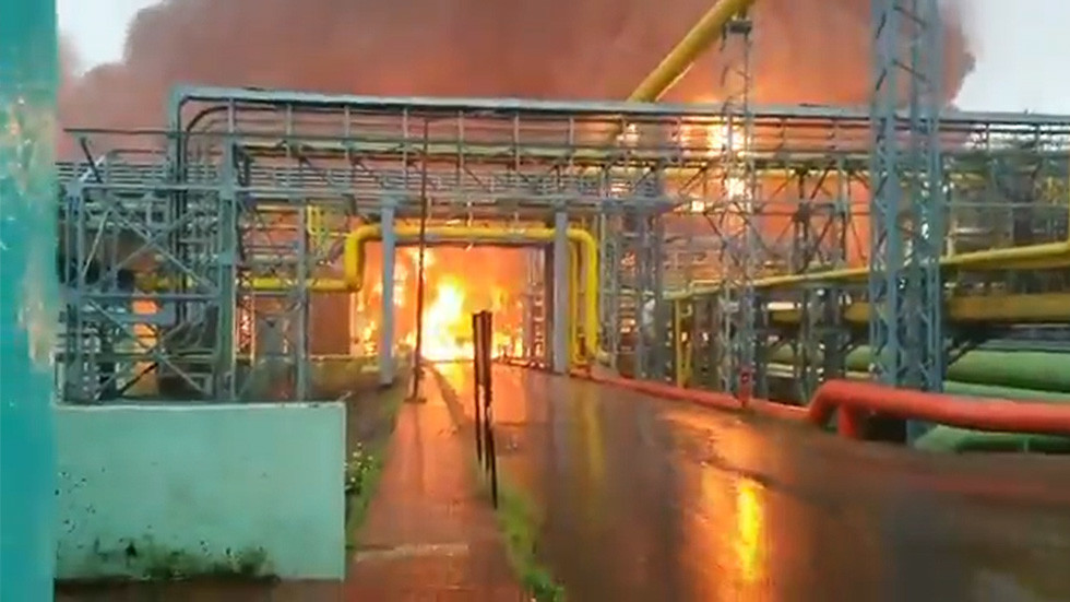 India – Multiple Casualties After Massive Blaze Breaks Out At Oil Refinery