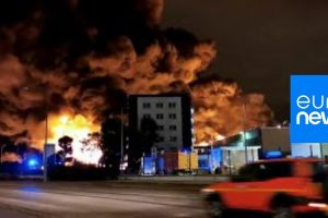 France – Possible Health Risk After Chemical Plant Fire