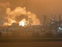 USA – Significant Fire At ExxonMobil Refinery Baton Rouge