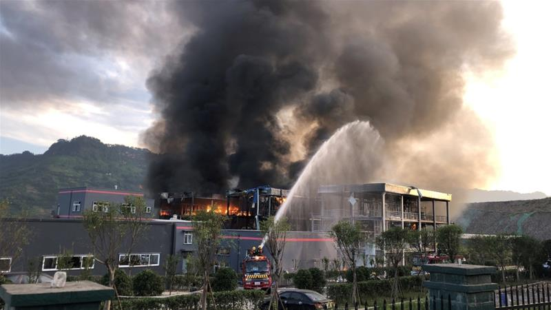 China – Factory Explosion Kills Two, Injures Eight