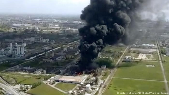 Italy – Chemical Plant Explosion Injures Two