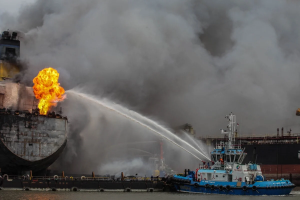 Indo Tanker Fire